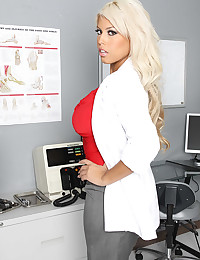 Doctor with great big tits