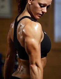 Hot Female Body Builders Nude