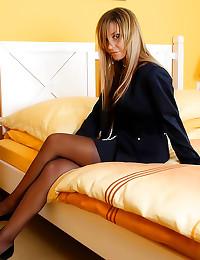 Gorgeous girdle and stockings...