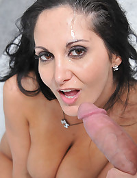 Horny Milf Enjoys Thick Monster Cock
