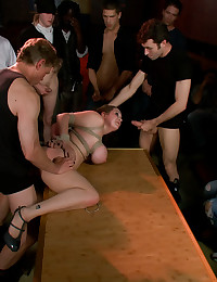 Adorable Redhead Gets Torture...