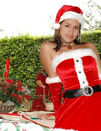 Pamela Spice - Pamela is dressed up as a very naughty Mrs. Claus