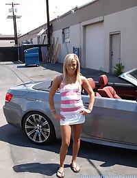 Adorable Blond Teen Kara Novak