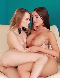 Can't get enough girl-on-girl action?