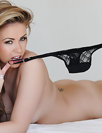 Leah Francis flashes her smile and shows off her super sexy body
