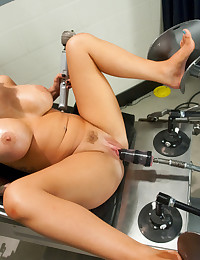 Jenna Presley and her ever cumming, squirting pussy return to FM. This big tit bombshell squirts everywhere as she's fisted and fucked by machines.