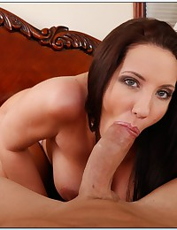 Big titty brunette milf fucked