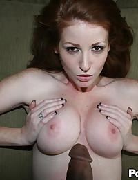 POV with a horny redhead