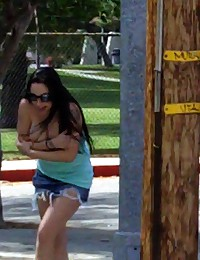 Girls getting violated in public