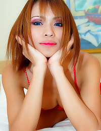Perfect tits on a ladyboy