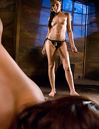 Gorgeous Mistress Fucks With Strapon