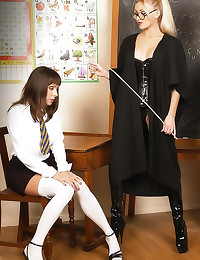 Naughty femdom teacher wants ...