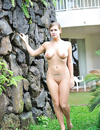 Danielle FTV - Join Danielle as she gets naked and shows her titties outdoors