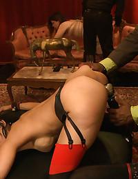 Two Kinky Babes Enjoy Kinky Threesome