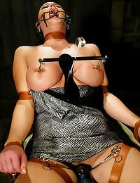 Hot bondage and water play