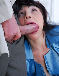 Sexy mature slut nailed