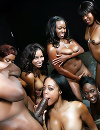 All black orgy party