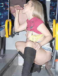 Horny Minx Fucked On Bus