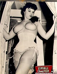 Several big breasted ladies from the fifties