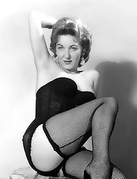 Vintage lingerie pics with babes
