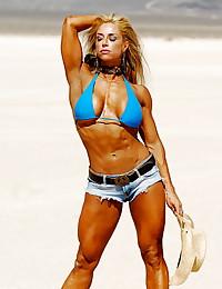 Muscle fiber women.