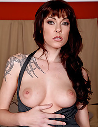 Slender body on tattooed pornstar