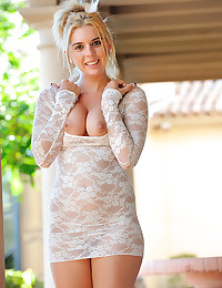 Lace dress for hot girl
