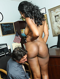 Curvaceous Ebony Goddess Rammed Raw