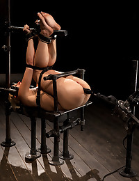 Naughty Blond Cougar Tied And Pleasured