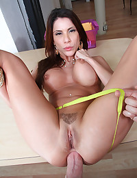 Lustful Alexa Smothers Fat Cock