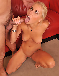 Young lady and hung older guy