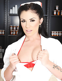 Nurse is naughty and hot