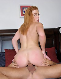 Luscious Andi Spreads Wide For Cock