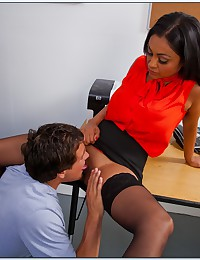 Lustful Latina Teacher Tests Her Student