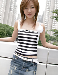 Slender Leggy Asian Cutie Strips