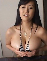 Busty asian titty fucking