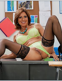 Milf Teacher Tara Reveals Horny Side