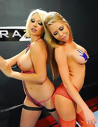 Two fucked blonde hotties