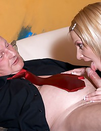 Young girl having sex with a much older man