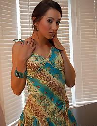 Cute dress comes off