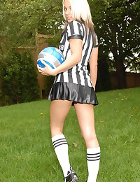 Next Door Nikki - Soccer referee dresses dirty to get the guys going