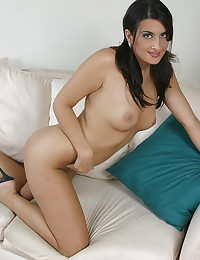 Busty Brunette In Cute Pigtails Ava