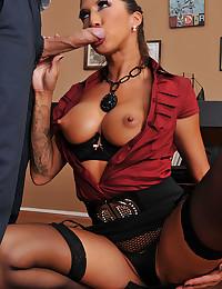Tall Leggy Kayla Seduces Her Man