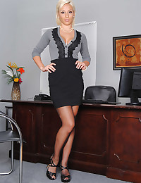 Sophisticated Office Babe Lexi Strips