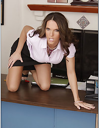 Sexy milf in business