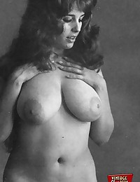 Busty girls from the sixties showing it all