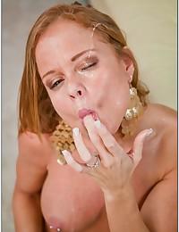 Naughty POV big tits sex