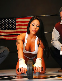 Big tits sporty girl hardcore