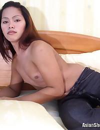 Naughty Asian Tranny Shows All