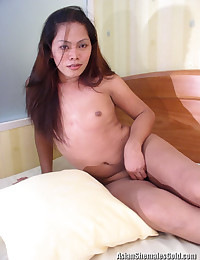 Naughty Asian Tranny Shows All